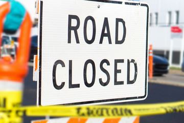 road closed Opens in new window